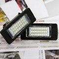 2 Pcs LED Luzes Da Placa de Licença Número Da Placa de Luz Para BMW E82 6000 K E88 E90 E92 E93 E60 Sedan E39 M5 X5 E70 E71 E72 X6