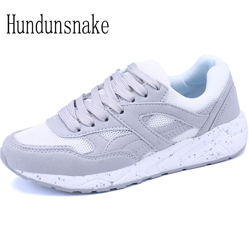 Hundunsnake Running Shoes For Women Sneakers Ladies Krasovki Female Sport Gumshoe Trainers Basket Femme 2018 Chaussure Femme T59