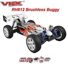 VRX Racing RH812 бесщеточный 1/8 масштаб Электрический внедорожный Радиоуправляемый автомобиль, автомобиль с дистанционным управлением, 80A ESC/3660 motro/11,1 V 3250mAH Lipo аккумулятор