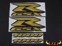 Motorcycle 3D GSXR Stickers Decorated Decals Sticker Case For Suzuki GSXR600 GSXR750 GSXR1000