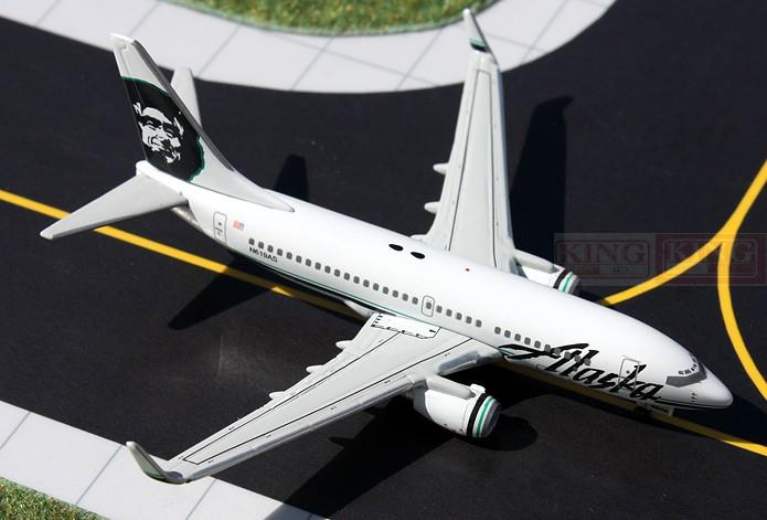 GJASA1402 GeminiJets Alaska Airlines 1:400 B737-700W commercial jetliners plane model hobby gjcca1366 b777 300er china international aviation b 2086 1 400 geminijets commercial jetliners plane model hobby