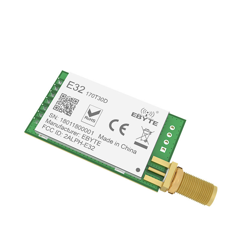 Image 4 - E32 170T30D LoRa SX1278 SX1276 170MHz rf Module 1W 170 MHz UART Wireless Transceiver Long Distance SMA k Antenna-in Fixed Wireless Terminals from Cellphones & Telecommunications