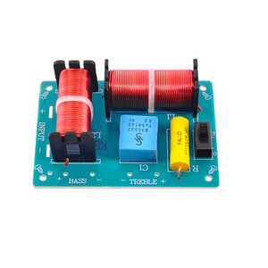 Image 2 - Tenghong 2pcs 2 Way Audio Crossover Board HIFI Bass Treble Speaker Frequency Divider For Home Theater Sound Quality Booster DIY