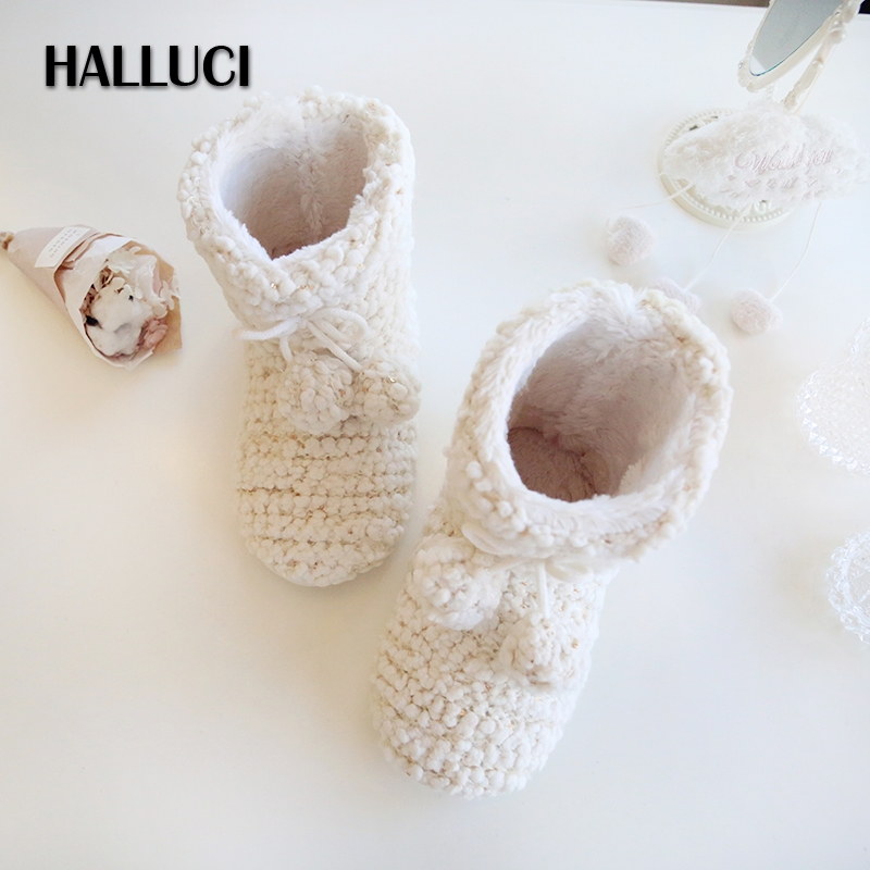 Halluci winter thicken keep warm women home boots shoes for Minimalist house slippers