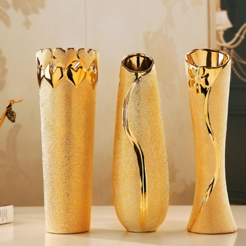 jarrones de cermica de jingdezhen moderno para decoracin flor contenedor caja de llaves decoracin accesorios para