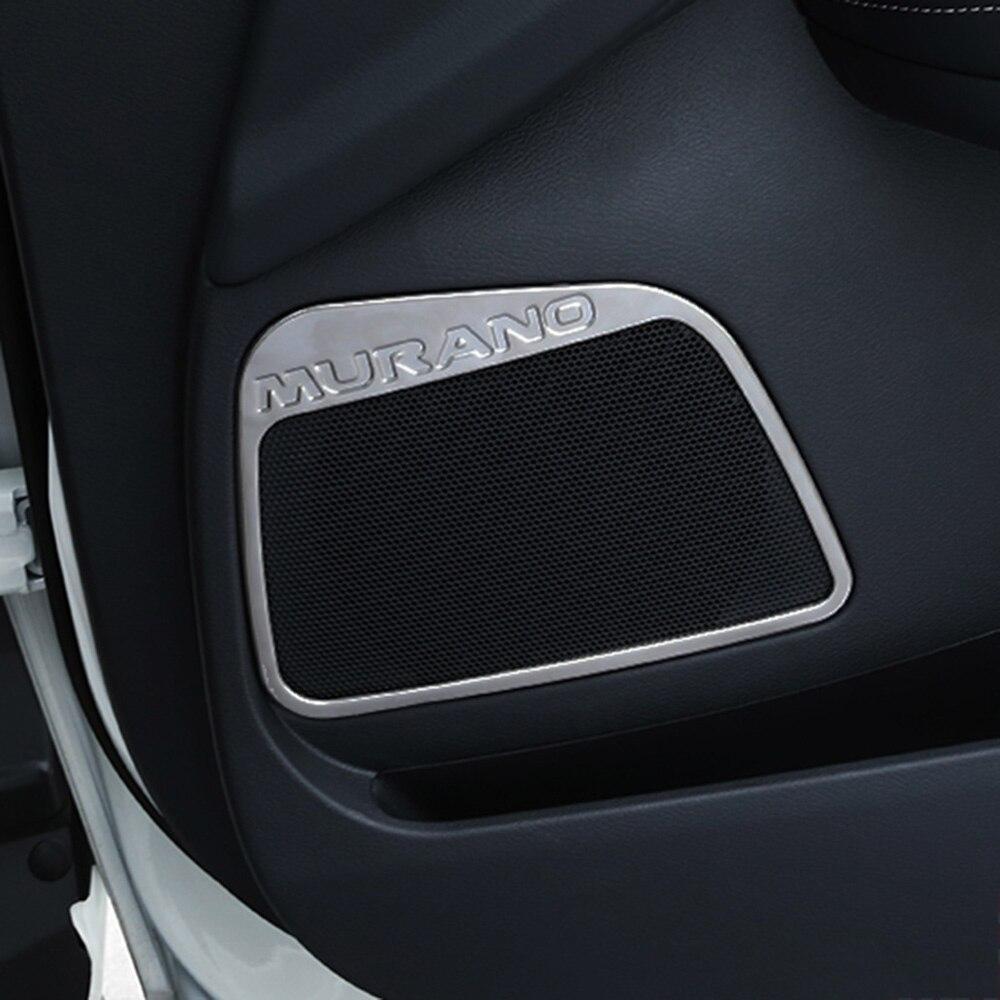 Chromed Tailgate Trunk Hatch Trim Bezel Cover For Nissan MURANO 2015-2017