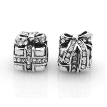 Christmas Jewelry Gifts Crystal Gifts Box European Style Bead Charms fit Pandora Jewelry Charm Accessoires Homme