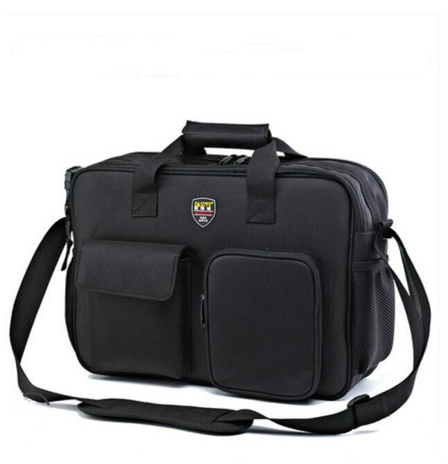 FASITE Big Large Genuine Multi-function Portable Shoulder Bag Repair Kit Pouch Tool Bag/Case Black st 5310 330 230 250mm multi functional 7 pockest 5 hole tool bag repair tool kit