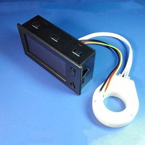 Image 4 - 50A 100A 200A 400A Stn Lcd Sala Coulomb Contatore Misuratore di Tensione di Corrente Amp Indicatore di Capacità di Visualizzazione Ebike Auto Isolamento Monitor