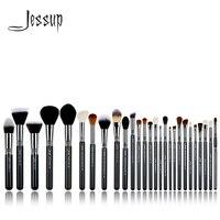 Jessup кисти 27 шт. Pro набор кистей для макияжа, основа для макияжа для лица для теней порошок для помады смешивание; красота набор кистей для T133