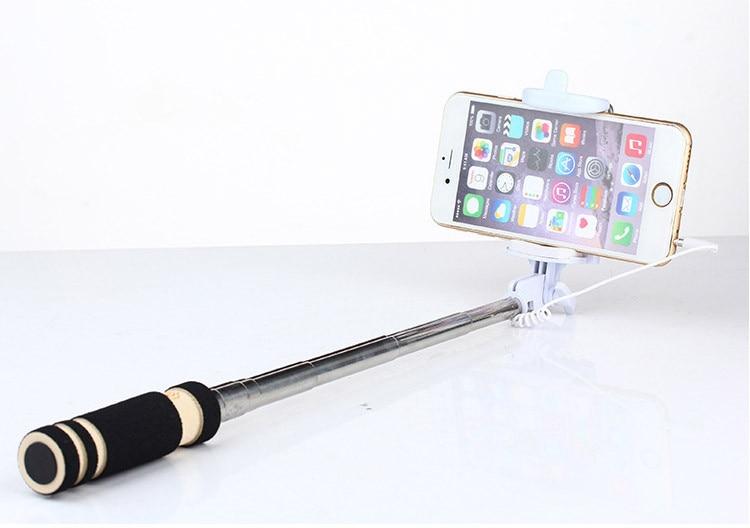 Hot Portable Mini Folding Mobiltelefon Kablet Selv Selfie Sticks For - Kamera og foto - Foto 6