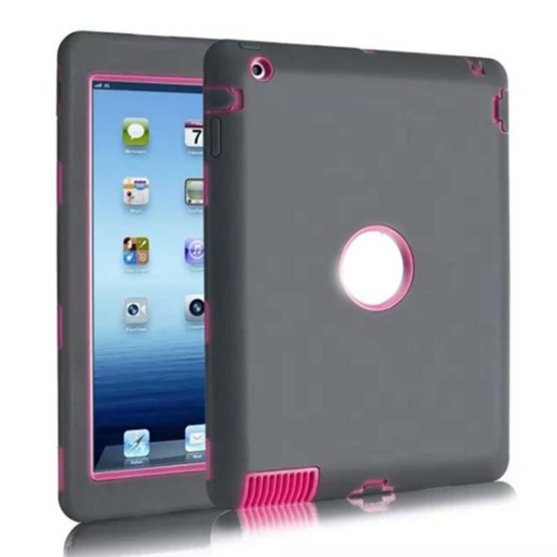 NEW For Apple ipad 2 3 /ipad 4 case Amor Heavy Duty Drop resistance Shock Proof tablet Case free +stylus