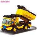 [Bailily] 1003A Compatible Con Legoe City Series T2-28k Coche Camión de La Construcción de Ladrillos de Construcción Bloques Juguetes Educativos para niño