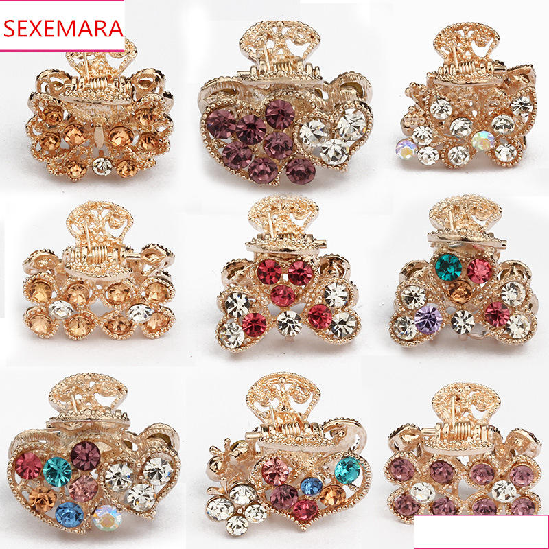 SEXEMARA 1PC Hair Ornaments Creative Korean Version Of The Small Gripping Guests WZ001 люстра fire small ornaments