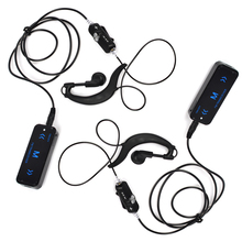 Super MINI 0.5W Ham Radio Walkie Talkies Transceiver 16channels with USB Power Supply And Earpieces