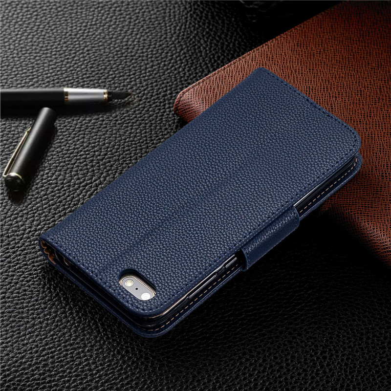 Image 3 - Y5(2019) Case Leather Flip Case on for Huawei Y5 2019 Coque Wallet Magnetic Cover for Huawei Y5 2019 Y 5 Prime 2018 Phone Cases-in Flip Cases from Cellphones & Telecommunications