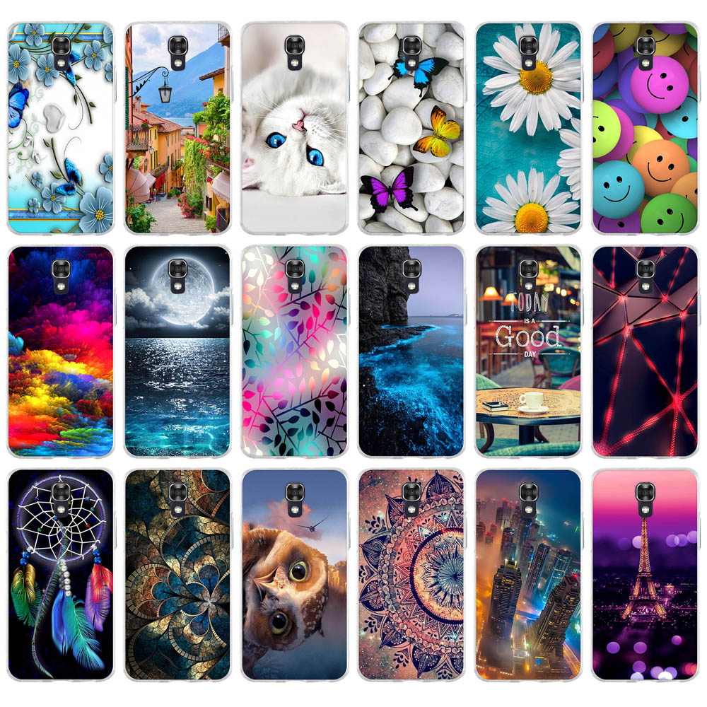 Cover Painted Case Phone-Back-Cover Lg-X-Screen-Cases K500Y Luxury Soft-Silicone