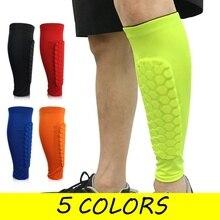 1 Anti-Collision Leg Cover Sports Leggings Football Honeycomb Compression Sleeve