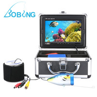 F002MD Underwater Fish Finder With HD Screen White LED Light 30m Waterproof Cable Line Camera Accessories