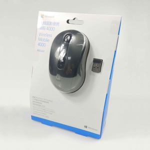 Image 5 - Microsoft 4000 2.4GHZ Wireless Mouse Blue Track For Laptop MAC
