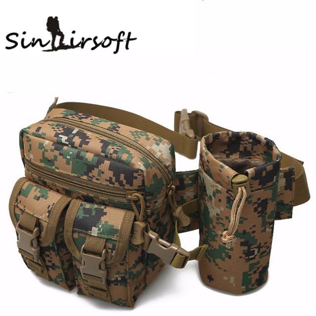 Táticas Arisoft bolsa saco edc militar 900D molle utilitário bolsa cintura packs saco chaleira equipamento militar ocasional acessórios