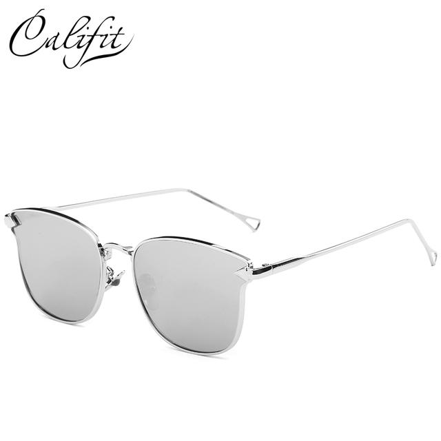 Pink Mirror Cat Eye Sunglasses 2017