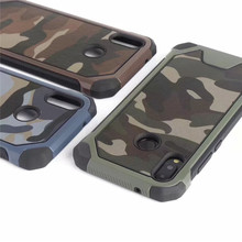 Mixing Army Camouflage Armor Case For Huawei P30 Lite P20 Lite Y5 2018 Shockproof Hard Cover On P20 Pro P30 Honor 8 Lite Case(China)