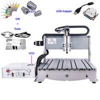 USB CNC Router 6040 CNC Carving Machine 800W Metal Milling Engraver Cutter