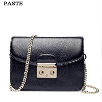 PASTE Brand Crossbody Bags For Women Designer Mini Neverfull Bags Ladies Small Chains Clutch Flap Bag