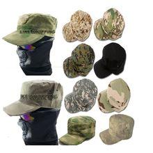 b636bb453aee8 Militar Caza airsoft Tactical sombreros soldados cadete sol-shading al aire  libre gorra de lucha