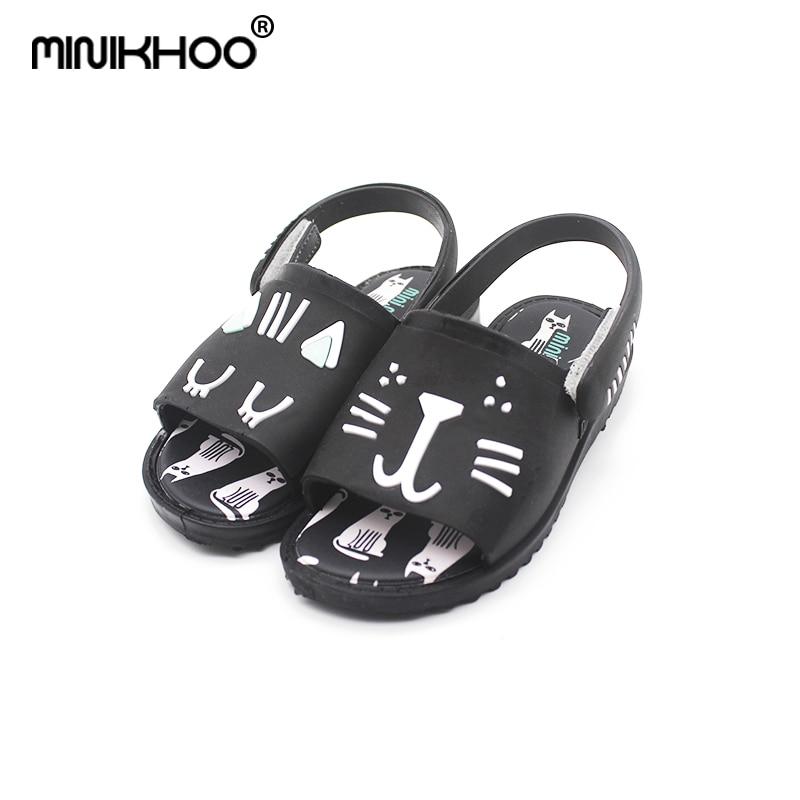 Mini Melissa New Boys and Girls Sandals Cat Jelly Shoes Sandalias - Zapatos de niños