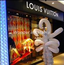 Fantastic party stage decoration walking about inflatable performance costume wing costume for adult