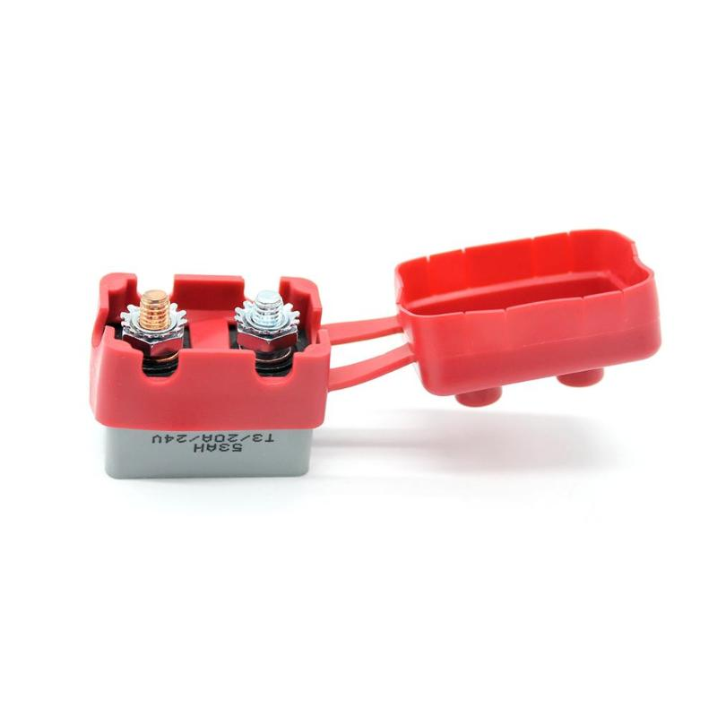 2Pcs Circuit Breaker Battery Fuse Automatic Reset Car Boat 20A 12V//24V