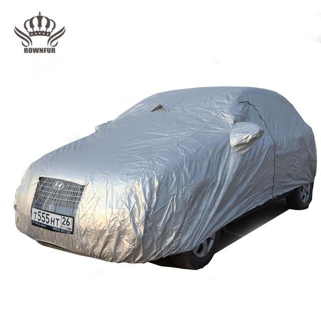 Toldo del coche protege contra la nieve dom lluvia de polvo y arena 2 hielo evita el empañamiento de la ventana de ventilación de alta calidad material