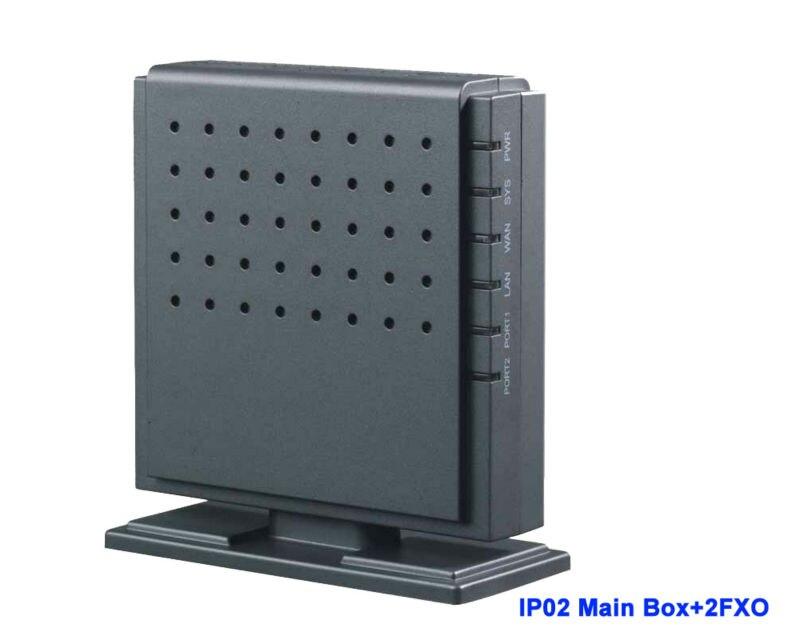 IP02-2O astérisque de coffre analogique prêt petit FXS FXO IP PBX avec Module pour 2 Ports FXO prend en charge 1 ~ 2 ports FXS FXO