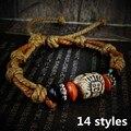 2017 Новый Горячий Продажа Мода ручной тибетский старинные керамические браслет Этнических Браслет манжеты ювелирные изделия женщины мужчины лучший подарок