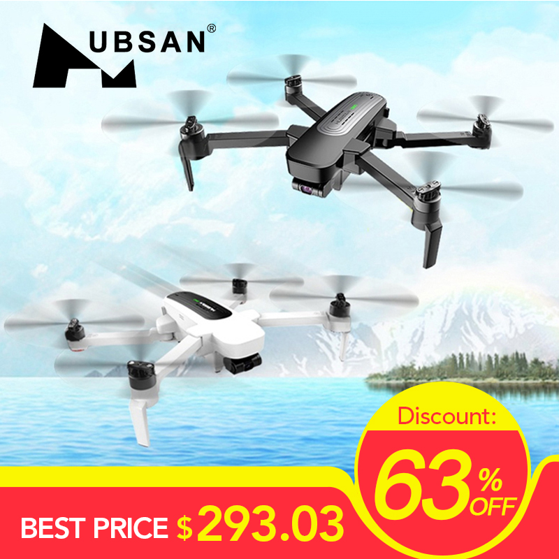In Stock Hubsan H117S Zino GPS 5.8G 1KM Foldable Arm FPV With 4K UHD Camera 3-Axis Gimbal RC Drone Quadcopter RTF FPV(China)
