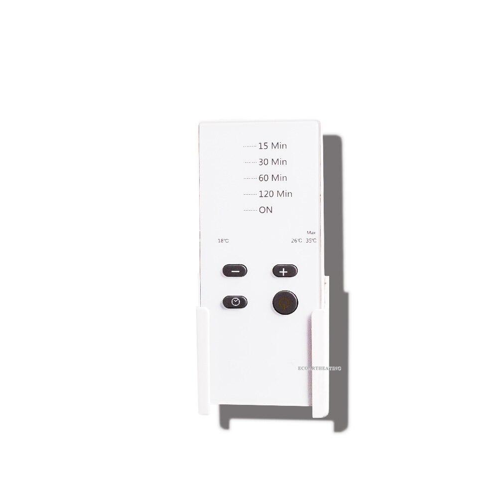 2016 Hiver Salle De Bains Infrarouge Radiateur Soufflant Avec Minuterie Murale Chauffage Electrique Chauffe Panneau 1500 W IP24 Dans Chauffages Electriques