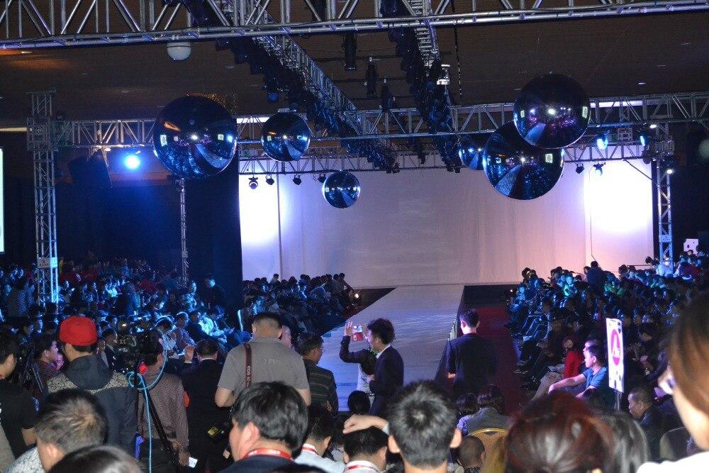 Große Bühnenspiegelkugel, aufblasbare Kugel