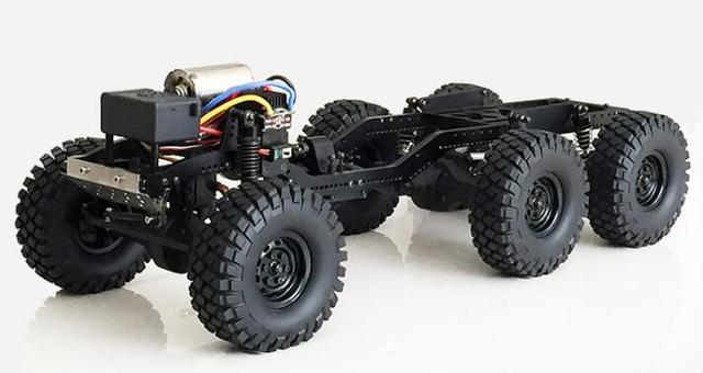Defender D90 JEEP 6x6 Chassis Frame Truck for 1/10 1/12
