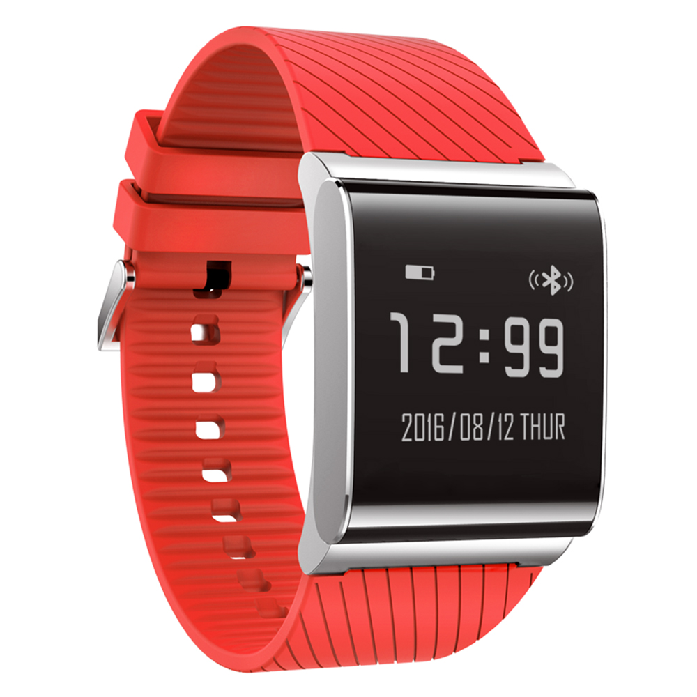 New 2018 New Health Manager! X9 Plus BLE 4.0 Heart Rate Smart Wristband Blood Pressure Oxygen Monitor Bracelet