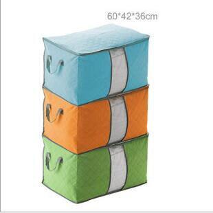 Горячее надувательство Большой размер 4 Цветов Складной Одежду Организатор Ящик Для Хранения Одежды одеяло для Постельных Принадлежностей Одеяло Подушка Underbed