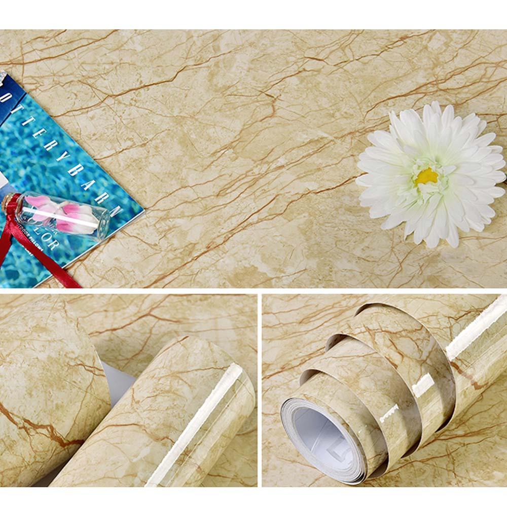 Modern marmer waterdicht vinyl zelfklevend behang moderne contact - Huisdecoratie
