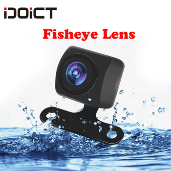 IDOICT Waterproof HD170 Degree Angle  Sony/MCCD 1409chip Fisheye Lens Starlight Night Vision Car Reverse Backup Rear View Camera