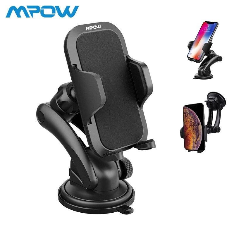 Steering-Wheel MCM12 Mpow Car Mount Grip Pro 2 Dashboard Adjustable Car Phone Holder Universal Cradle Windshield Holder Cradle steering wheel phone holder