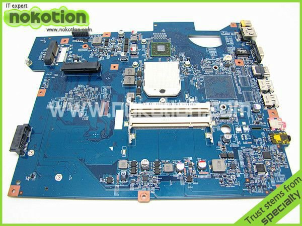MBWGH01001 MB.WGH01.001 JV50-TR 48.4FM01.011 LAPTOP MOTHERBOARD FOR GATEWAY NV53 AMD RS880M+SB710M INTEGRATED DDR2