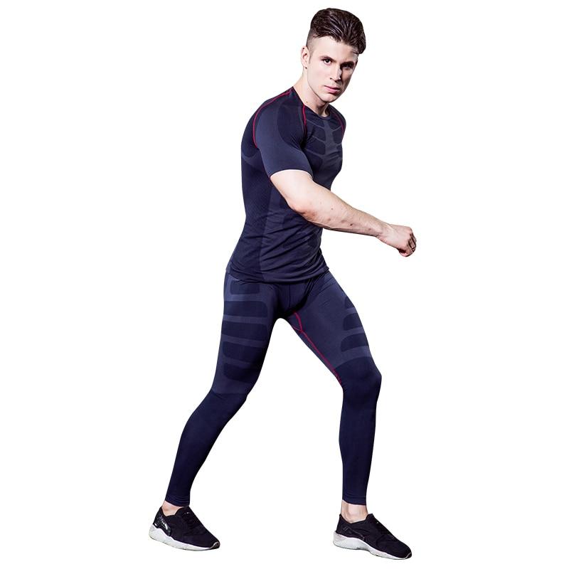 YD 2019 Нов компресиран къс ръкав - Спортно облекло и аксесоари - Снимка 2