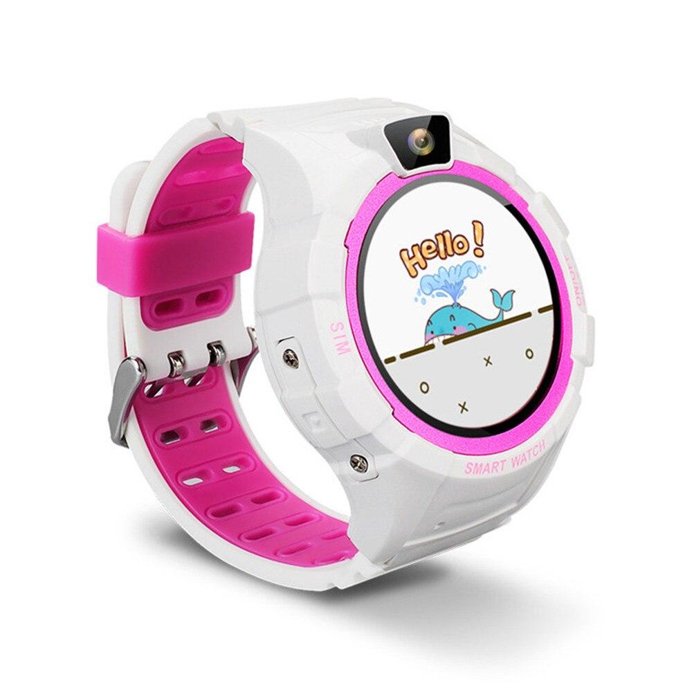 BTSJ004 children's smart watch waterproof round screen GPS positioning student phone watch hot smart wearable device все цены