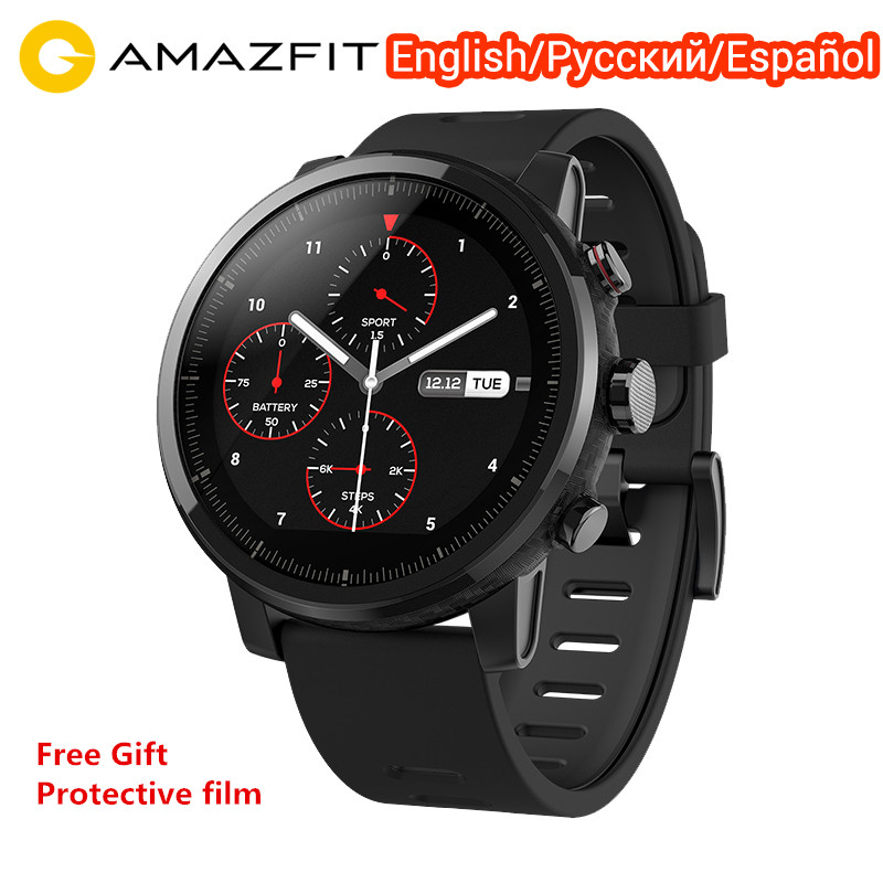 Xiaomi Huami Amazfit Stratos 2 Smart Watch Global Version Sports Smartwatch With GPS PPG Heart Rate