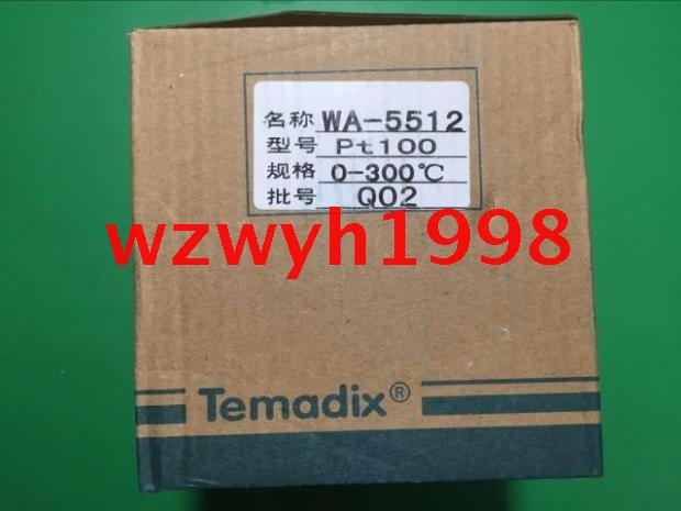 Genuine Temadix WD-5000 intelligent temperature controller WA-5512 intelligent temperature controller genuine toky east tek te7 series te7 sb10w temperature controller